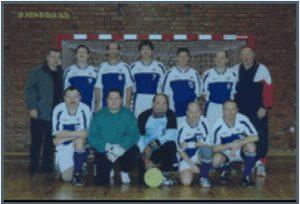 Gruppenfoto Fussball IG Alte Herren